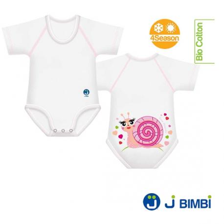 Body Bumbac Organic 4Season 0-36 luni Melc