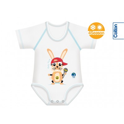 Body din Bumbac 4Season 0-36 luni Farm Collection Iepure