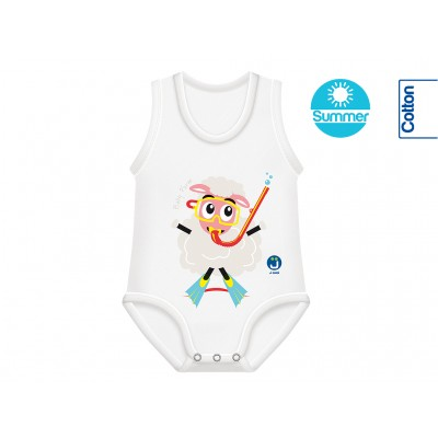 Body Bumbac Oeko Tex Summer 0-36 luni Oaie