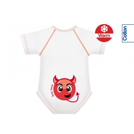 Body din Bumbac Warm 0-36 luni Smile Collection Dracusor