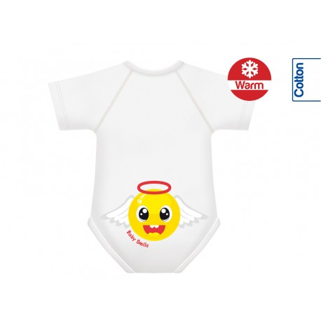 Body din Bumbac Warm 0-36 luni Smile Collection Ingeras